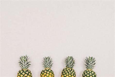 creative simple background pineapple creative simple