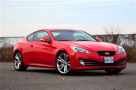 Used 2010 Hyundai Genesis Coupe used vehicle review hyundai genesis coupe 2010 2012