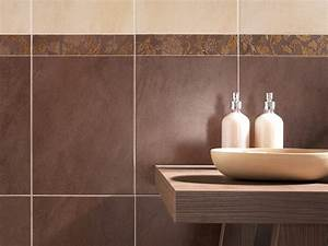 carrelage salle de bain beige et chocolat With carrelage salle de bain chocolat