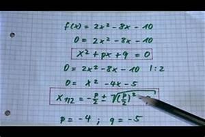 Kurvendiskussion Berechnen : video nullstellen berechnen schriftlich oder online mit einem rechner ~ Themetempest.com Abrechnung