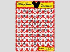 Printable Countdown Calendar Calendar Template 2018