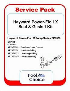 Hayward Power Flo Matrix Seal Oring Kit