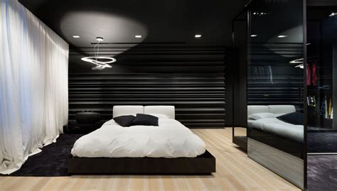 fascinating bedroom design ideas  white  black
