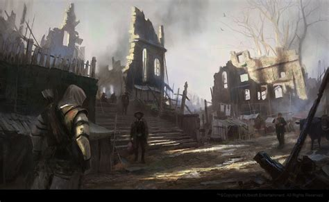Assassins Creed Iii Concept Art By Gilles Beloeil