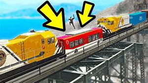 CAN YOU STOP THE TRAIN CRASH IN GTA 5? (Incredible) | Doovi