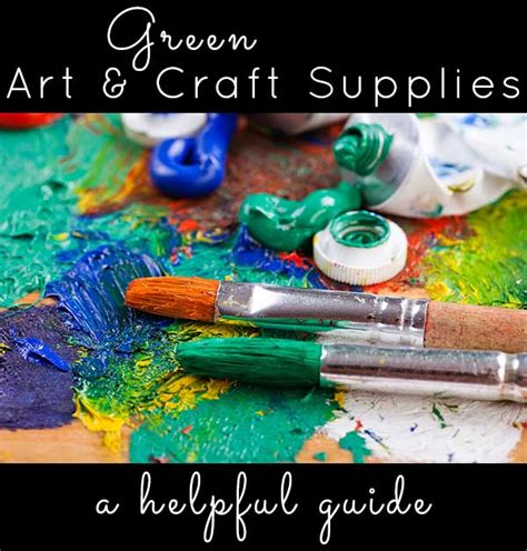 arts and crafts supplies green and craft supplies 3386