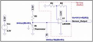 Circuit Diagram Of The Temperature Sensor Circuit