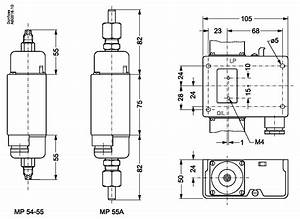 Product Name  Differential Pressure Switch  Type  Mp55a