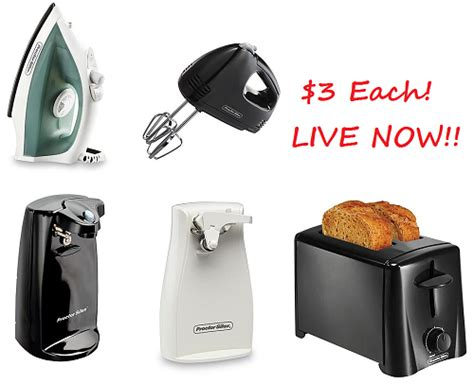 Kmart Small Kitchen Appliances Only $3 Live Now!! (as Low
