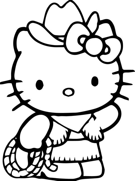 Hello Kitty Coloring Pages Wecoloringpage com