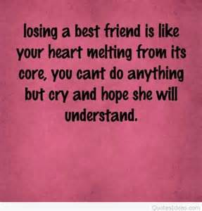 Losing Your Best Friend Quotes