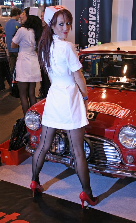 car show girls nec show  jeff flickr