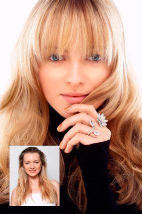 hair styles best 25 soft bangs ideas on fringes lob 7133