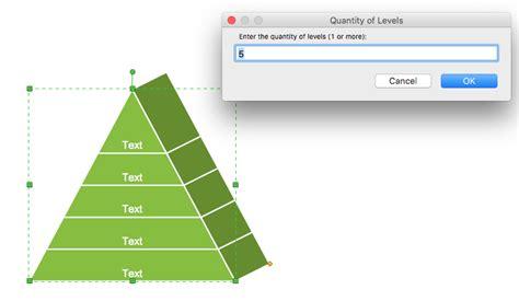 Creating Pyramid Diagram Quickly Conceptdraw Helpdesk