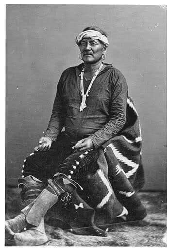 navajo chief manuelito north american indians native