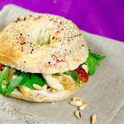 cuisine libanaise houmous bagels poulet grillé houmous recette cuisine libanaise