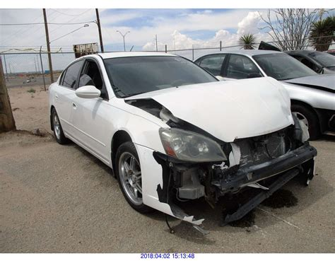 Nissan Altima Parts Only Rod Robertson
