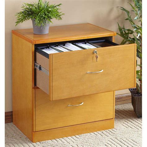 File Cabinets: stunning wood 2 drawer file cabinet Wood