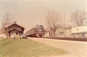 Indiana Railroad Passenger Train