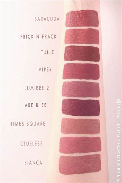 Swatches Matte Colorpop Lipsticks Viper Jasmine Mywebtrend