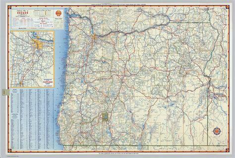 map  oregon roads  highways  travel information