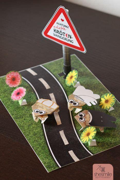Geldgeschenk Basteln Passend Fuer Hochzeit Oder Geburtstag by Kr 246 Tenwanderung Als Geldgeschenk Bastelanleitung