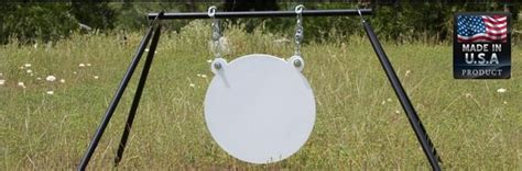 steel target stands  prices ar swinging gong target stands