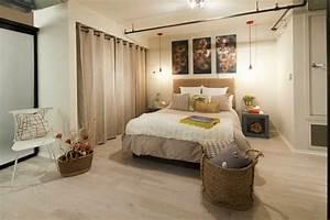 Schrank Mit Vorhang : vorhang als raumtrenner verwenden kluge wohnideen ~ Michelbontemps.com Haus und Dekorationen