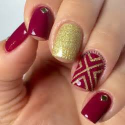 Gallery for gt red and silver nail designs prom