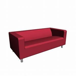 2er Sofa Rot : klippan 2er sofa gran n rot einrichten planen in 3d ~ Markanthonyermac.com Haus und Dekorationen