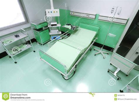 vide chambre lit vide dans une chambre d 39 hôpital illustration stock