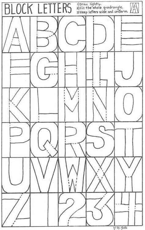 block letters abc unit kindergarten letter naming
