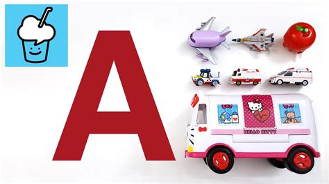 Learning Vehicles Starting With Letter A With Tomica トミカ
