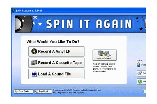 spin it again records