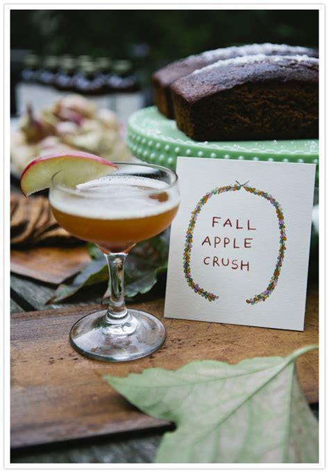 autumn cocktails autumn cocktail party inspiration party entertaining ideas 100 layer cake