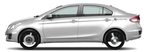 Suzuki Ciaz Backgrounds by Maruti Suzuki Ciaz Zdi Shvs Variant Stock Tyre Size