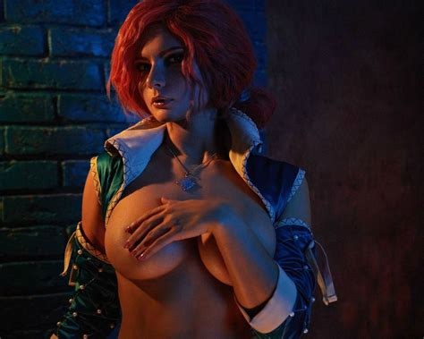 read triss merigold by jannet incosplay the witcher hentai online porn manga and doujinshi