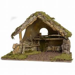 Modele De Creche De Noel En Bois A Fabriquer Maison