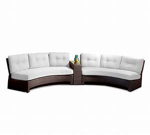Outdoor curved sofa lloyd flanders 38056068 contempo for Sectional sofas for outdoor