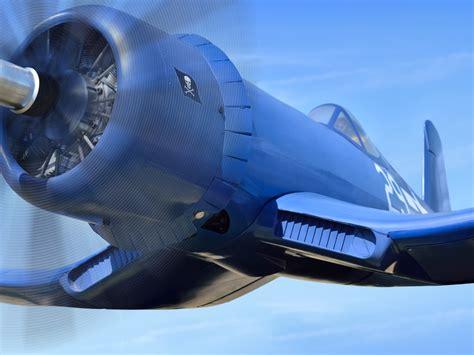 Wallpaper Vought F4u Corsair, Blue Aircraft 3840x2160 Uhd