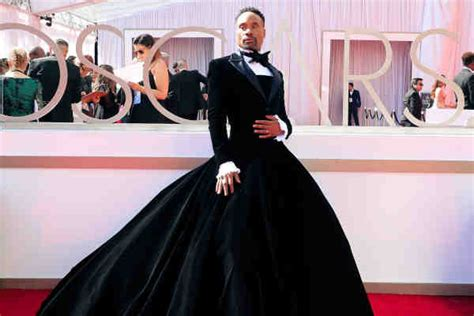 Billy Porter Says Oscars Tuxedo Dress Was About Taking