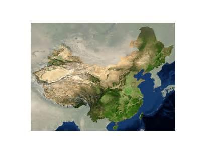 3d China Map Panoramic Atelia Aerial Steps