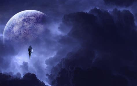 fantasy moon wallpaper  images