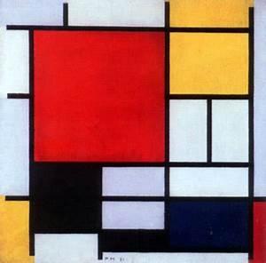 Minimalism Paintings Piet Mondrian Katie Warman Design