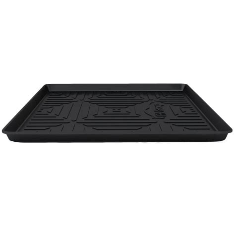 weather track mats fh black ultimate weather proof rubber large 40 in
