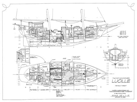 motor sailer lucille kasten marine design