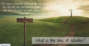 What Is The Way Of Salvation