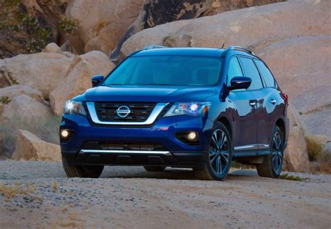 nissan pathfinder update revealed performancedrive
