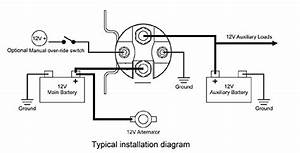 Stinger Battery Isolator Wiring Diagram