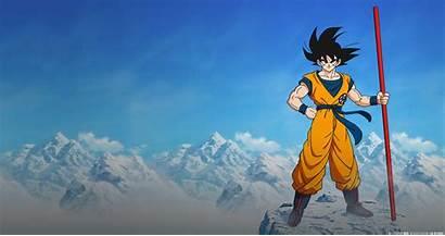 Dragon Goku Ball Pc Wallpapers Son 4k